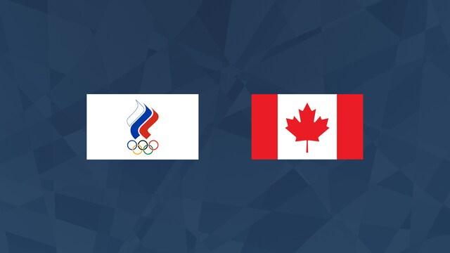 Puolivälierä: Venäjä - Kanada
