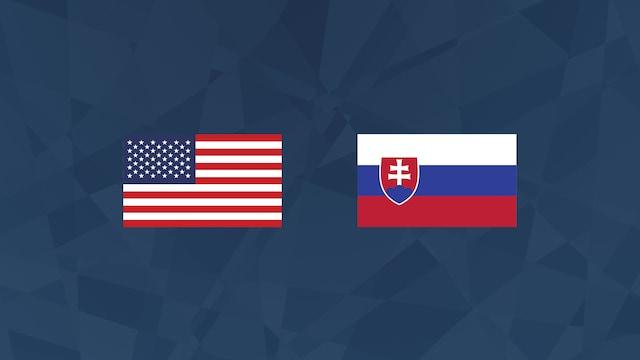 Puolivälierä: USA - Slovakia (studiolähetys)