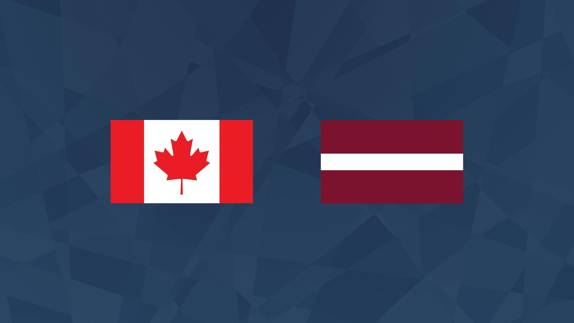 Maalikooste: Kanada - Latvia