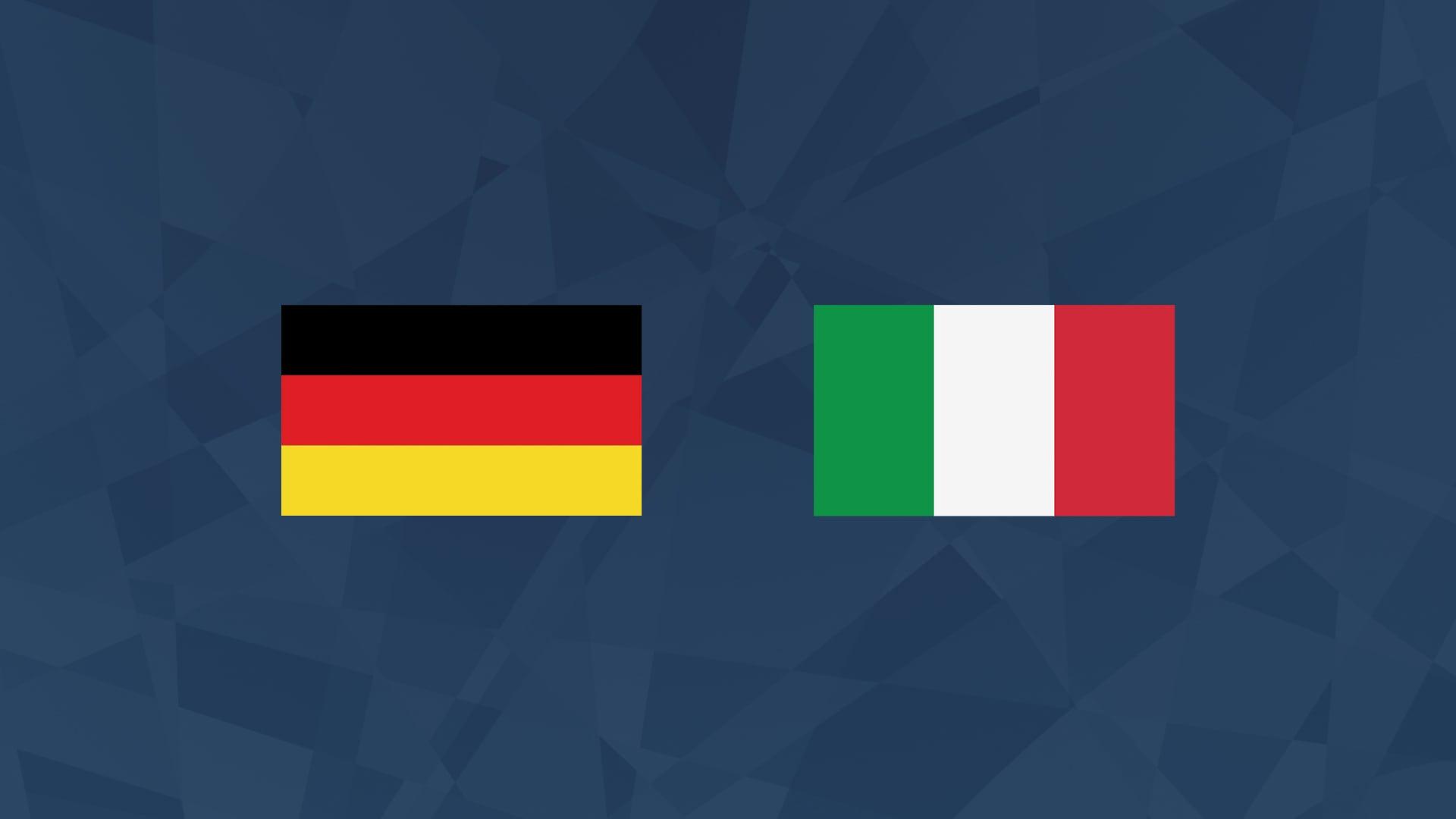 Maalikooste: Saksa - Italia