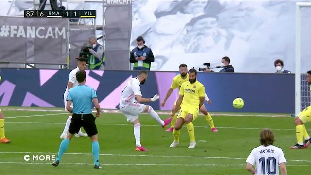 La Liga, Maalikooste: Real Madrid - Villarreal