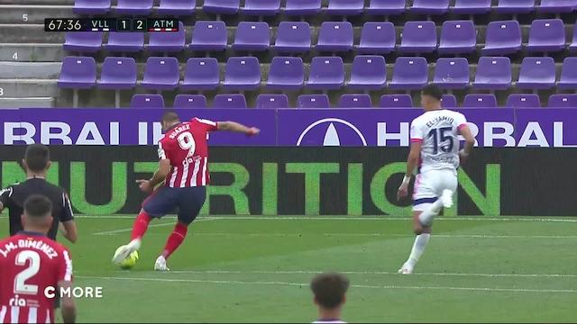 La Liga, Maalikooste: Real Valladolid - Atlético Madrid