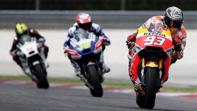 Moto2: Katalonian aika-ajot