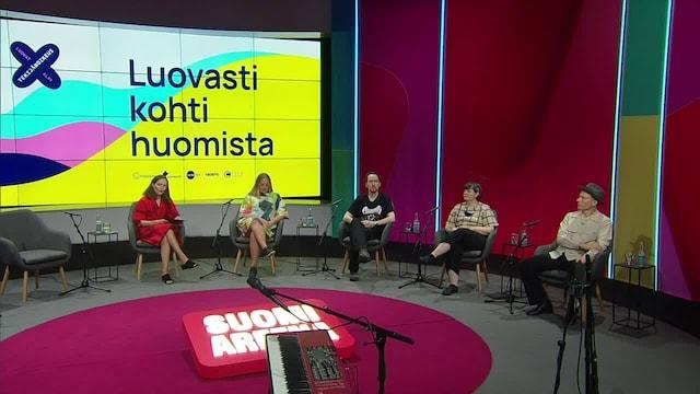 SuomiAreena, Luovasti kohti huomista – Luova työ digiajassa