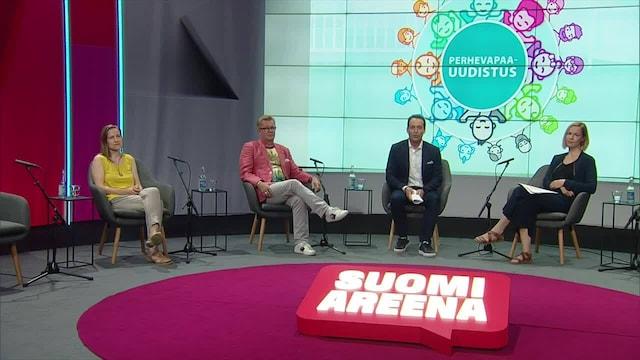 SuomiAreena, Perhevapaat – uudistuksesta asennemuutokseen