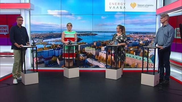 SuomiAreena, Täydellä kaasulla kestävään tulevaisuuteen – Energiamurroksen anarkiaa?