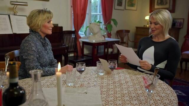 Illallinen äidille, Annimari Korte lukee koskettavan kirjeen äidilleen