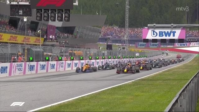 Formula 1, Itävalta 2