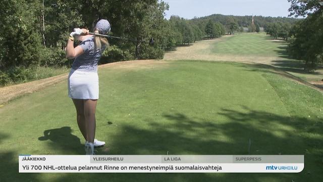 Golf, Golffari Matilda Castrenin ura lähti nousukiitoon LPGA-kiertueen turnausvoitolla kesäkuussa