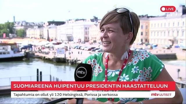 SuomiAreena, SuomiAreenan päätöshuipennus