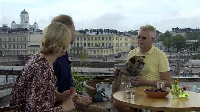 17. Pekka Pouta ja sääkoira sini sekä Edis Tatli