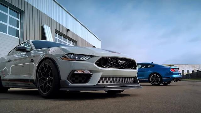 Autot, Mach 1 -nimi on palannut Mustang-mallistoon
