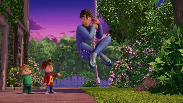 Alvin ja pikkuoravat, Jakso 29: Nopeammin, korkeammalle, voimakkaammin