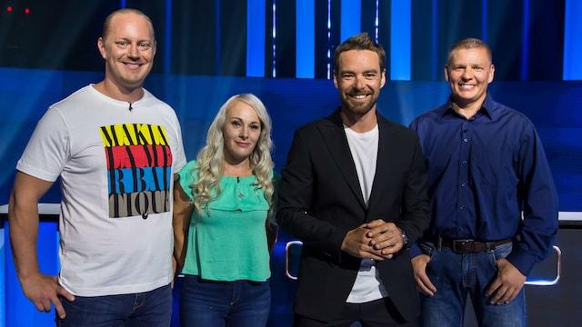 5. Heikki, Hanne ja Oskari