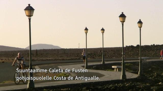 Unelma-asunto auringon alta, Jakso 35: Fuerteventura kutsuu