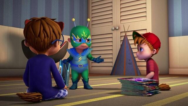 Alvin ja pikkuoravat, Jakso 34: Tohtori Zap vs. Sähköpoika