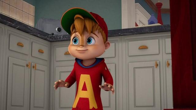 Alvin ja pikkuoravat, Jakso 35: Megapomppumatsi