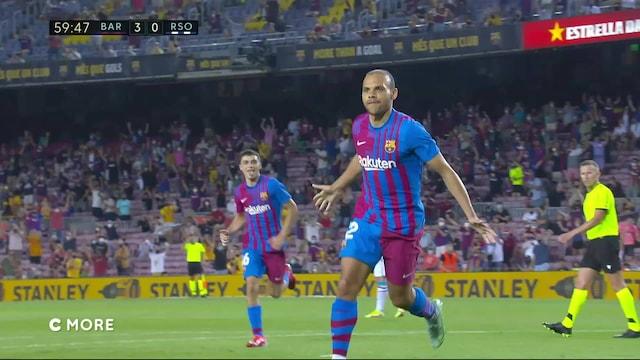 La Liga, Maalikooste: Barcelona - Real Sociedad