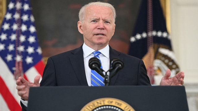 MTV Uutiset Live, Presidentti Biden puhuu Afganistanin tilanteesta