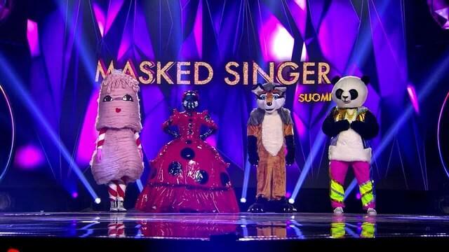 Masked Singer Suomi - Maskin takana, Jakso 1: Ensimmäinen paljastuja