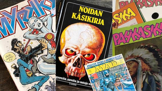 Lifestyle, Pahkasika, Noidan käsikirja, Myrkky, Suomen MAD – mitä näistä sinä luit?