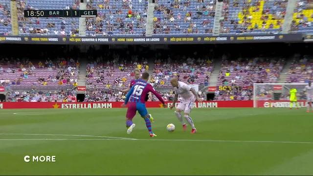 La Liga, Maalikooste: Barcelona - Getafe
