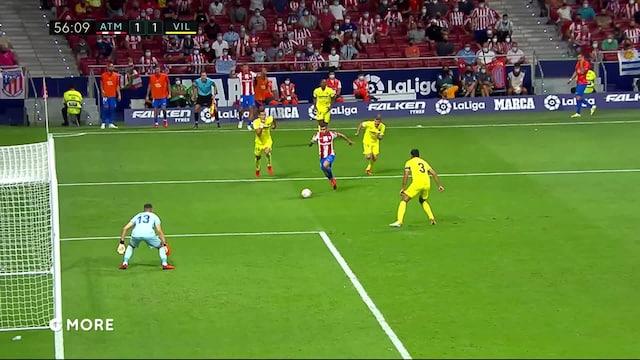La Liga, Maalikooste: Atlético Madrid - Villarreal