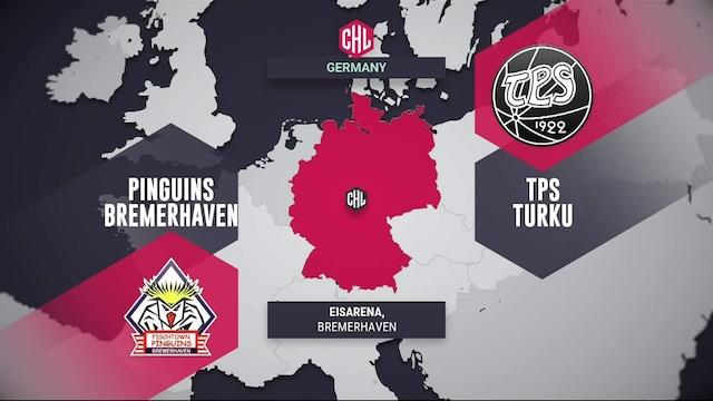 Champions Hockey League, Maalikooste: Pinguins Bremerhaven - TPS