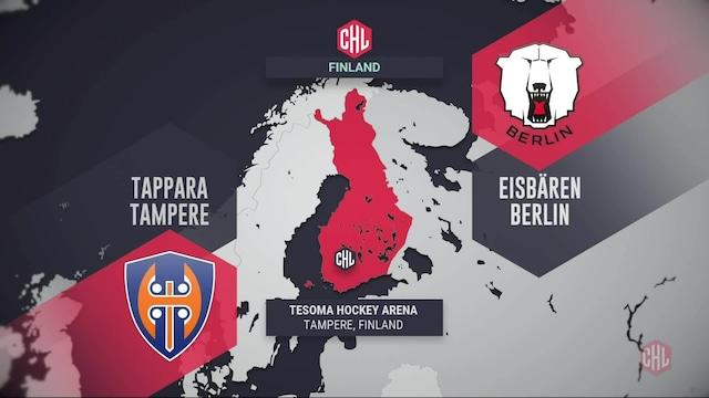 Champions Hockey League, Maalikooste: Tappara - Eisbären Berlin