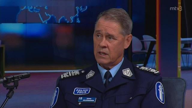 Uutisextra, Vieraana poliisiylijohtaja Seppo Kolehmainen
