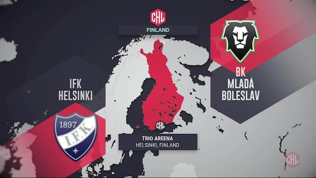 Champions Hockey League, Maalikooste: HIFK - BK Mlada Boleslav