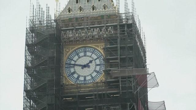 Kevennys 6.9.2021, Viisi vuotta kestänyt Big Benin kunnostus alkaa valmistua – historiallinen kello on jälleen kansalaisten nähtävillä