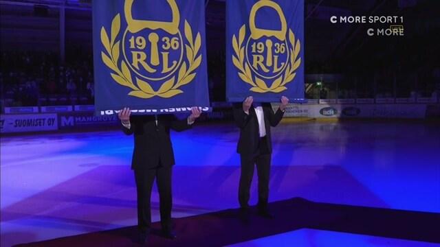 Liiga, Mestaruusviiri nousi Äijänsuon jäähallin kattoon