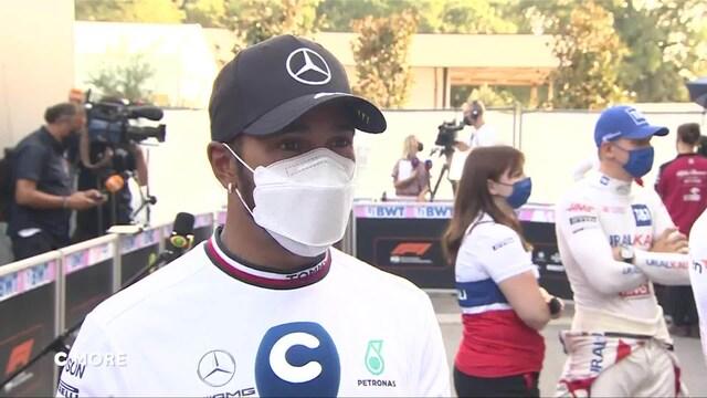 """Formula 1: Italian GP, Hamilton: """"Helppo voitto huomenna Verstappenille"""""""