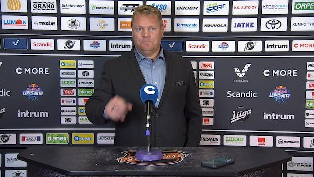 Liiga, Lehdistötilaisuus: KooKoo - SaiPa