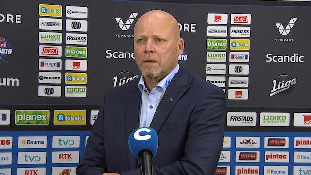 Liiga, Lehdistötilaisuus: Lukko - Ässät