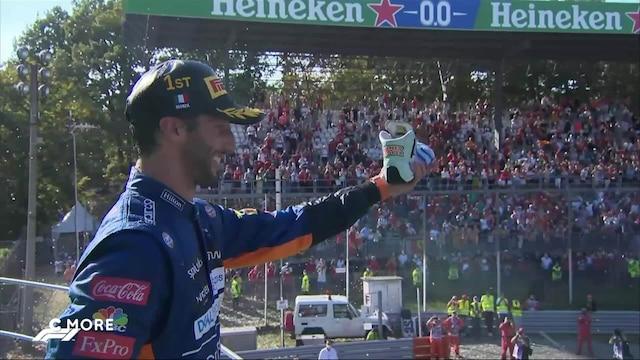 Formula 1: Italian GP, Shoey ja Ricciardo tekivät paluun palkintopallille