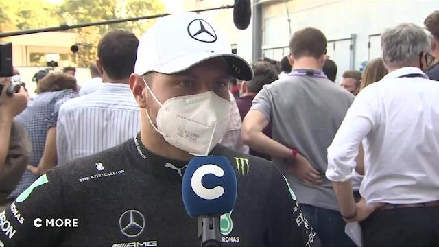 """Formula 1: Italian GP, Bottas: """"Kaikki oli pelissä"""""""