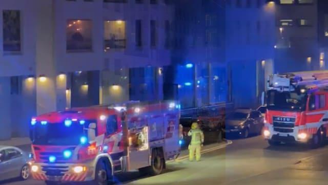 Uutisklipit, Video: Wolt Marketissa syttyi tulipalo – sai aikaan mustan savupilven