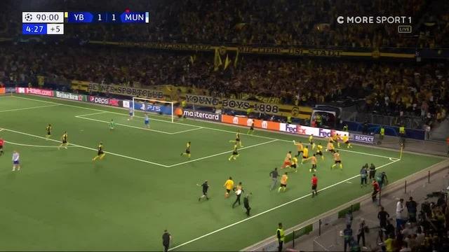 Mestarien liiga, Sensaatio! Young Boys iskee voittomaalin lisäajan viimeisellä minuutilla ja kaataa Manchester Unitedin