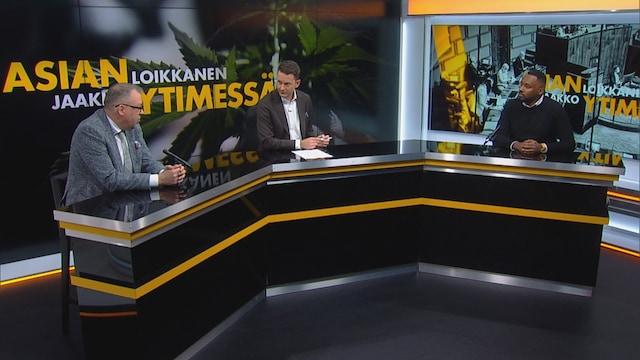 """Asian ytimessä, Jaakko Loikkanen, Kokoomuksen ja vasemmistoliiton kansanedustajat eri linjoilla kannabiksesta: """"Ihmisiä tulee auttaa, ei rangaista"""""""