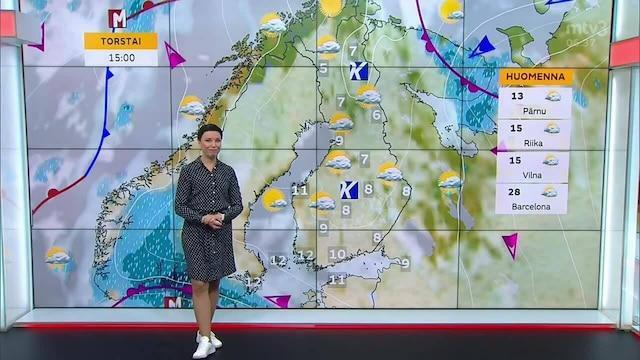 Uutisaamun sää, Keskiviikko 15.9. Sää jatkuu poutaisena ja viileänä
