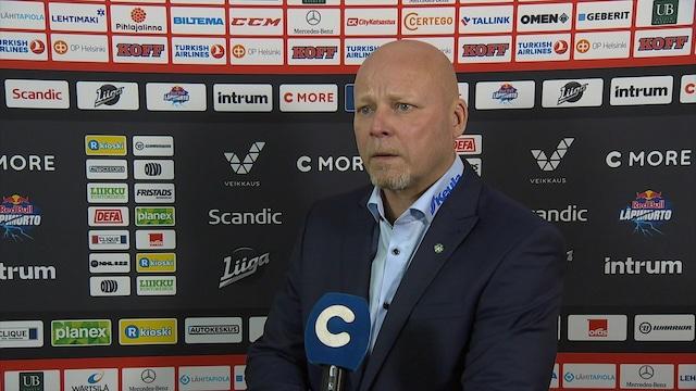 Liiga, Lehdistötilaisuus: HIFK - Lukko