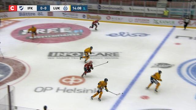 Liiga, Maalikooste: HIFK - Lukko