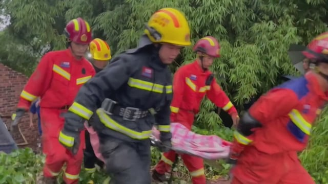 Uutisklipit, Kiinassa kaksi ihmistä on kuollut ja kymmeniä loukkaantunut maanjäristyksessä – tältä maanjäristys ja sen aiheuttamat tuhot näyttävät