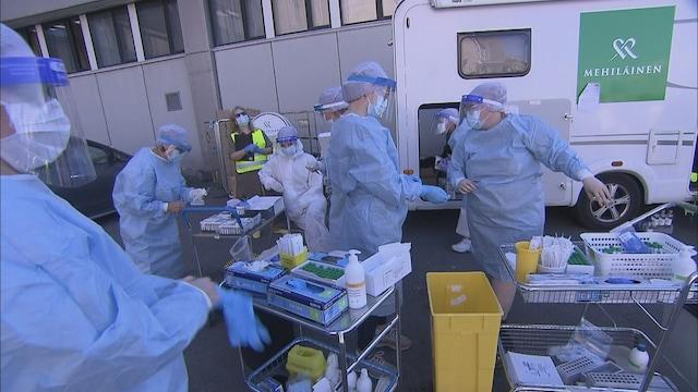 MTV Uutiset Live, Lapin infektioylilääkäri toivoo, että kaikissa kunnissa käytettäisiin antigeeni-testejä pcr-testien sijaan – miksi?