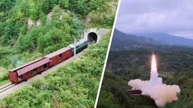Uutisklipit, Pohjois-Korea ampui massiivisen ohjuksen tavarajunan vaunusta – katso, kuinka ammus laukaistiin