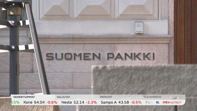 Uutisjutut: Kotimaa, Suomen pankki nostaa ennustetaan tämän vuoden talouskasvusta 3,5 prosenttiin