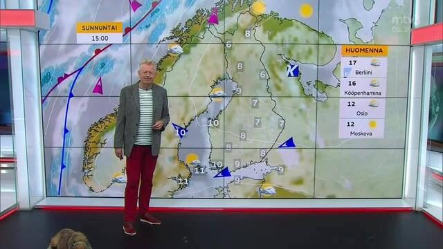 Uutisaamun sää, Perjantai 17.9. Kolea ja enimmäkseen pilvinen viikonloppu