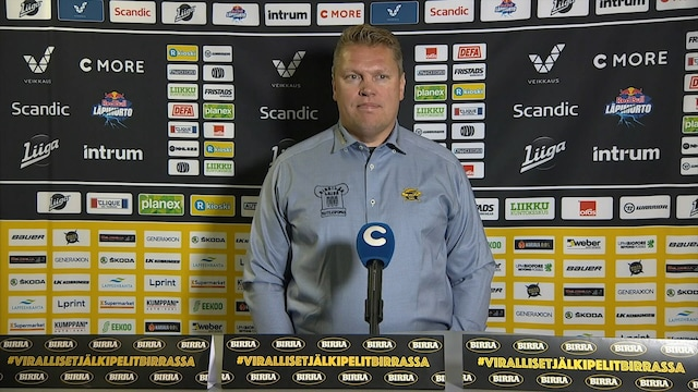 Liiga, Lehdistötilaisuus: SaiPa - HPK